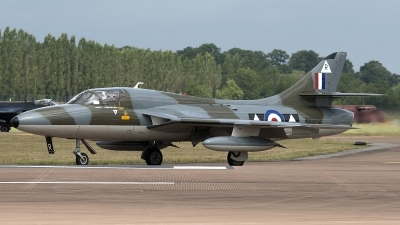 Photo ID 83959 by Niels Roman / VORTEX-images. Private Viper Team Hawker Hunter T7, G BXFI