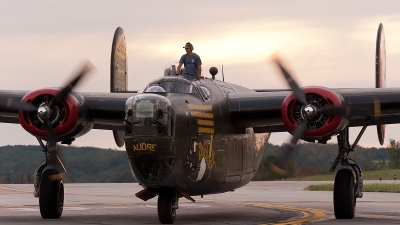 Photo ID 83298 by Tony Printezis. Private Collings Foundation Consolidated B 24J Liberator, N224J