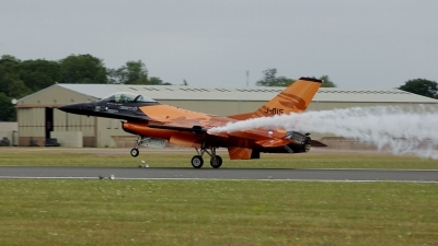 Photo ID 83589 by Michael Baldock. Netherlands Air Force General Dynamics F 16AM Fighting Falcon, J 015