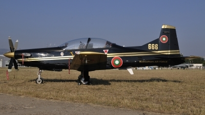 Photo ID 83633 by Peter Terlouw. Bulgaria Air Force Pilatus PC 9M, 666