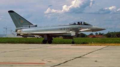 Photo ID 83971 by Stephan Sarich. Germany Air Force Eurofighter EF 2000 Typhoon S, 98 29