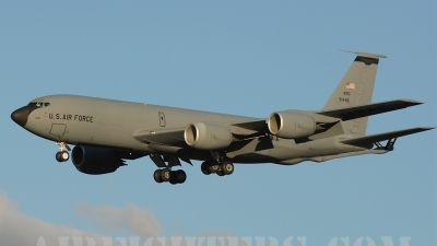 Photo ID 10624 by Kevin Burkholder. USA Air Force Boeing KC 135R Stratotanker 717 100, 59 1446