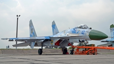 Photo ID 83899 by Antoha. Ukraine Air Force Sukhoi Su 27, 41 BLUE