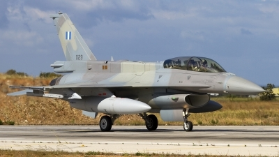 Photo ID 83942 by Chris Lofting. Greece Air Force General Dynamics F 16D Fighting Falcon, 029