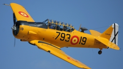 Photo ID 84033 by Javier Bozzino Barbudo. Private Private North American T 6G Texan, EC DUN
