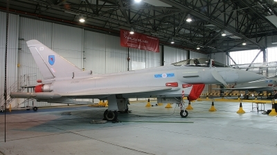 Photo ID 84124 by Paul Newbold. UK Air Force Eurofighter EF 2000 Typhoon FGR4, ZK306