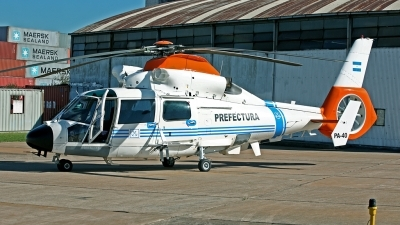 Photo ID 84418 by Carl Brent. Argentina Coast Guard Aerospatiale AS 565SA Panther, PA 40
