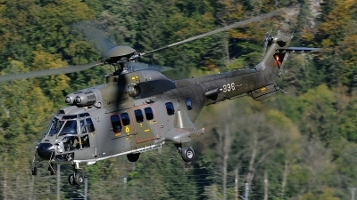 Photo ID 84960 by Martin Thoeni - Powerplanes. Switzerland Air Force Aerospatiale AS 532UL Cougar, T 336