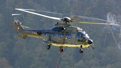 Photo ID 85125 by Martin Thoeni - Powerplanes. Switzerland Air Force Eurocopter AS 532UL Cougar, T 342