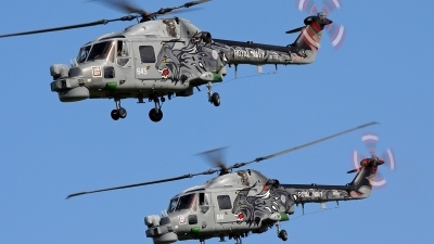 Photo ID 85370 by Robin Coenders / VORTEX-images. UK Navy Westland WG 13 Lynx HMA8DSP, XZ722