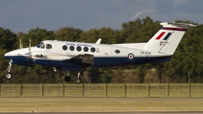 Photo ID 85175 by Chris Lofting. UK Air Force Beech Super King Air B200, ZK456
