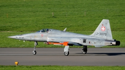 Photo ID 85545 by Martin Thoeni - Powerplanes. Switzerland Air Force Northrop F 5E Tiger II, J 3070