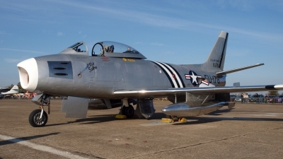 Photo ID 85288 by Stuart Thurtle. Private Private North American F 86A Sabre, G SABR