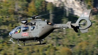 Photo ID 85752 by Martin Thoeni - Powerplanes. Switzerland Air Force Eurocopter TH05 EC 635P2, T 354