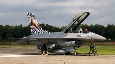 Photo ID 85673 by Jan Eenling. Belgium Air Force General Dynamics F 16BM Fighting Falcon, FB 18