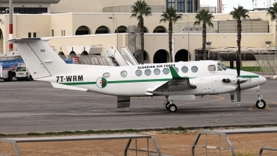 Photo ID 85592 by Simone Farrugia. Algeria Air Force Beech Super King Air 350, 7T WRM