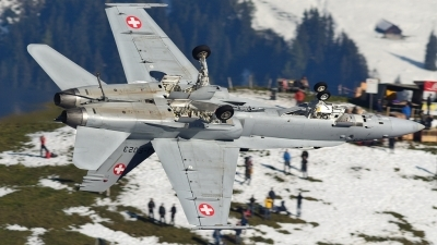 Photo ID 85659 by FEUILLIN Alexis. Switzerland Air Force McDonnell Douglas F A 18C Hornet, J 5023