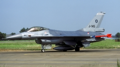 Photo ID 86133 by Joop de Groot. Netherlands Air Force General Dynamics F 16A Fighting Falcon, J 145