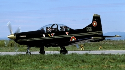 Photo ID 86171 by Joop de Groot. Bulgaria Air Force Pilatus PC 9M, 666