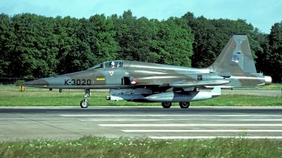 Photo ID 86066 by Carl Brent. Netherlands Air Force Canadair NF 5A CL 226, K 3020