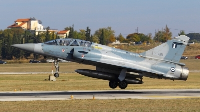 Photo ID 86409 by George Tsialtas. Greece Air Force Dassault Mirage 2000BG, 201