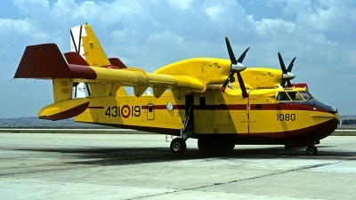 Photo ID 86615 by Carl Brent. Spain Air Force Canadair CL 215 T, UD 13 19