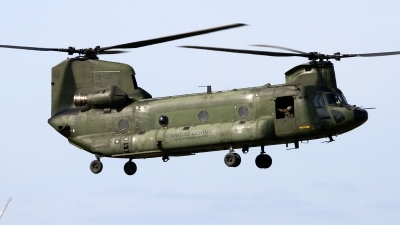 Photo ID 86892 by Niels Roman / VORTEX-images. Netherlands Air Force Boeing Vertol CH 47D Chinook, D 103