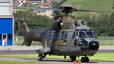 Photo ID 86631 by Jan Eenling. Switzerland Air Force Aerospatiale AS 332M1 Super Puma, T 313