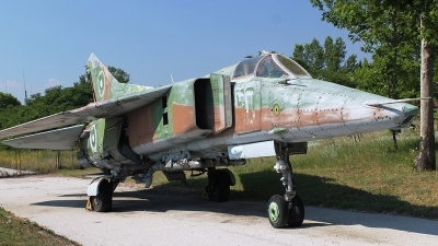 Photo ID 86792 by Stamatis Alipasalis. Bulgaria Air Force Mikoyan Gurevich MiG 23BN, 50