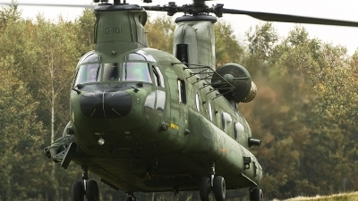 Photo ID 86653 by rob martaré. Netherlands Air Force Boeing Vertol CH 47D Chinook, D 101