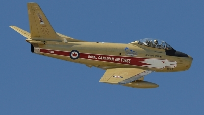 Photo ID 87278 by Rod Dermo. Private Vintage Wings of Canada Canadair CL 13A Sabre Mk 5, C GSBR