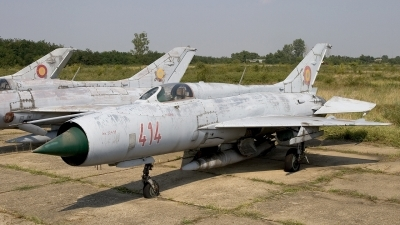 Photo ID 11040 by Chris Lofting. Romania Air Force Mikoyan Gurevich MiG 21PF, 414