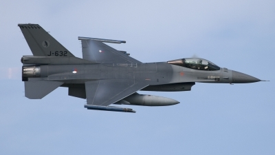 Photo ID 87743 by Niels Roman / VORTEX-images. Netherlands Air Force General Dynamics F 16AM Fighting Falcon, J 632