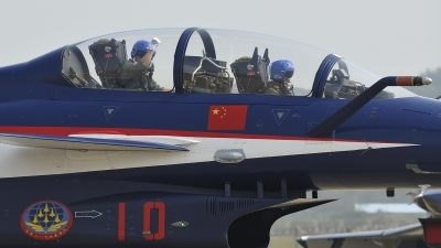 Photo ID 87019 by Peter Terlouw. China Air Force Chengdu J10S, 10