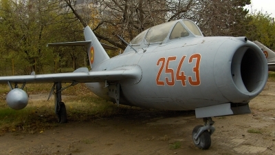 Photo ID 87977 by Horatiu Goanta. Romania Air Force Mikoyan Gurevich MiG 15UTI, 2543
