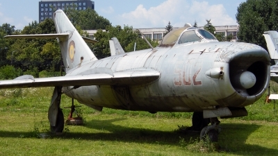 Photo ID 87784 by Horatiu Goanta. Romania Air Force Mikoyan Gurevich MiG 17PF, 502