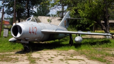 Photo ID 87763 by Horatiu Goanta. Romania Air Force Mikoyan Gurevich MiG 17F, 442