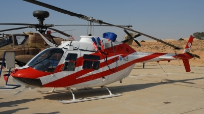 Photo ID 87441 by Florian Morasch. Israel Air Force Bell 206B Sayfan, 028