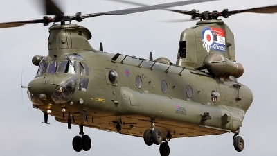 Photo ID 87407 by Robin Coenders / VORTEX-images. UK Air Force Boeing Vertol Chinook HC2A, ZH895