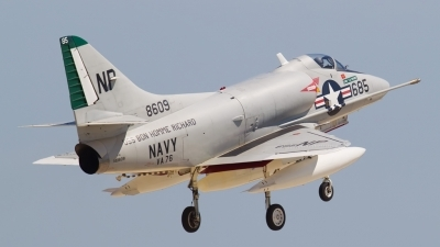 Photo ID 87621 by David Jacobson. Private Warbirds Heritage Foundation Douglas A 4C Skyhawk, N49WH