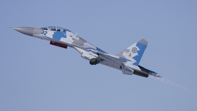 Photo ID 87841 by David Jacobson. Private Private Sukhoi Su 27UB, N132SU