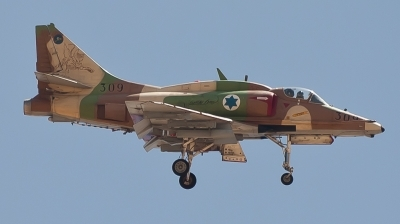 Photo ID 88161 by Andreas Zeitler - Flying-Wings. Israel Air Force McDonnell Douglas A 4N AhitM, 309