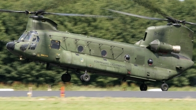 Photo ID 89303 by Niels Roman / VORTEX-images. Netherlands Air Force Boeing Vertol CH 47D Chinook, D 662