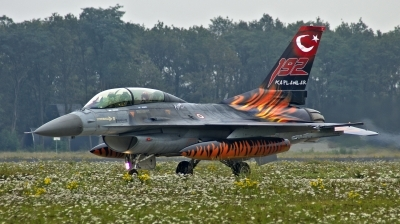 Photo ID 89020 by huelsmann heinz. Turkey Air Force General Dynamics F 16D Fighting Falcon, 93 0696
