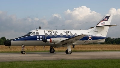 Photo ID 88625 by Sander Meijering. UK Navy Scottish Aviation HP 137 Jetstream T2, XX476
