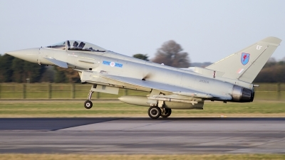 Photo ID 88742 by Chris Lofting. UK Air Force Eurofighter EF 2000 Typhoon FGR4, ZK308