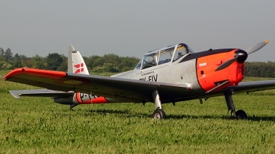 Photo ID 89289 by Jan Eenling. Denmark Air Force De Havilland Canada DHC 1 Chipmunk 22A, OY FLV