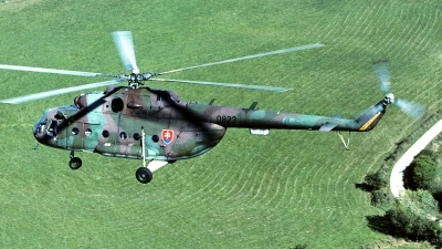 Photo ID 89216 by Carl Brent. Slovakia Air Force Mil Mi 17, 0823