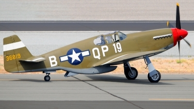 Photo ID 89779 by W.A.Kazior. Private Private North American P 51C Mustang, N4651C