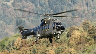 Photo ID 89754 by Lothar Wolf. Switzerland Air Force Aerospatiale AS 332M1 Super Puma, T 313